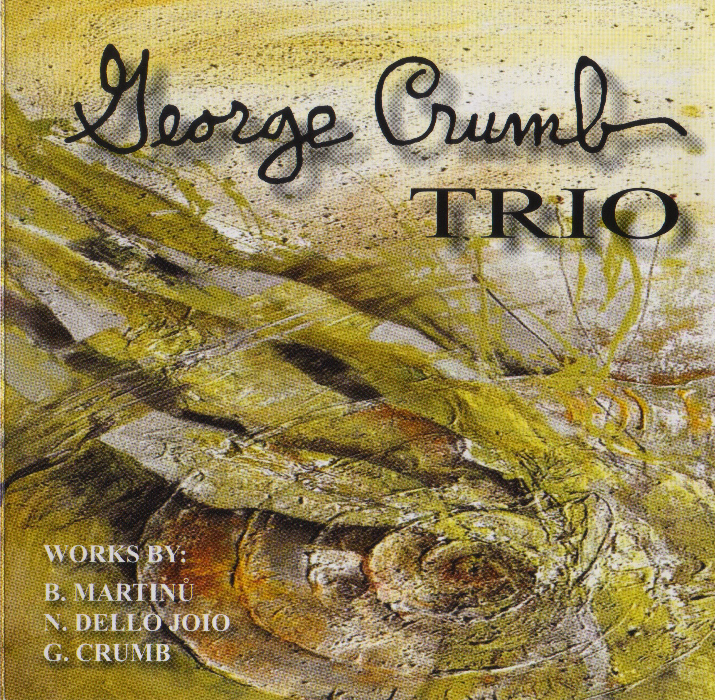 CD George Crumb Trio