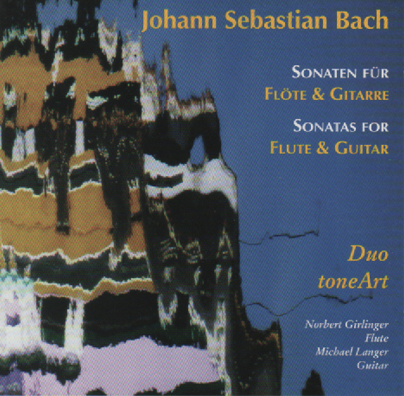 CD Johann Sebastian Bach – Sonaten für Flöte & Gitarre
