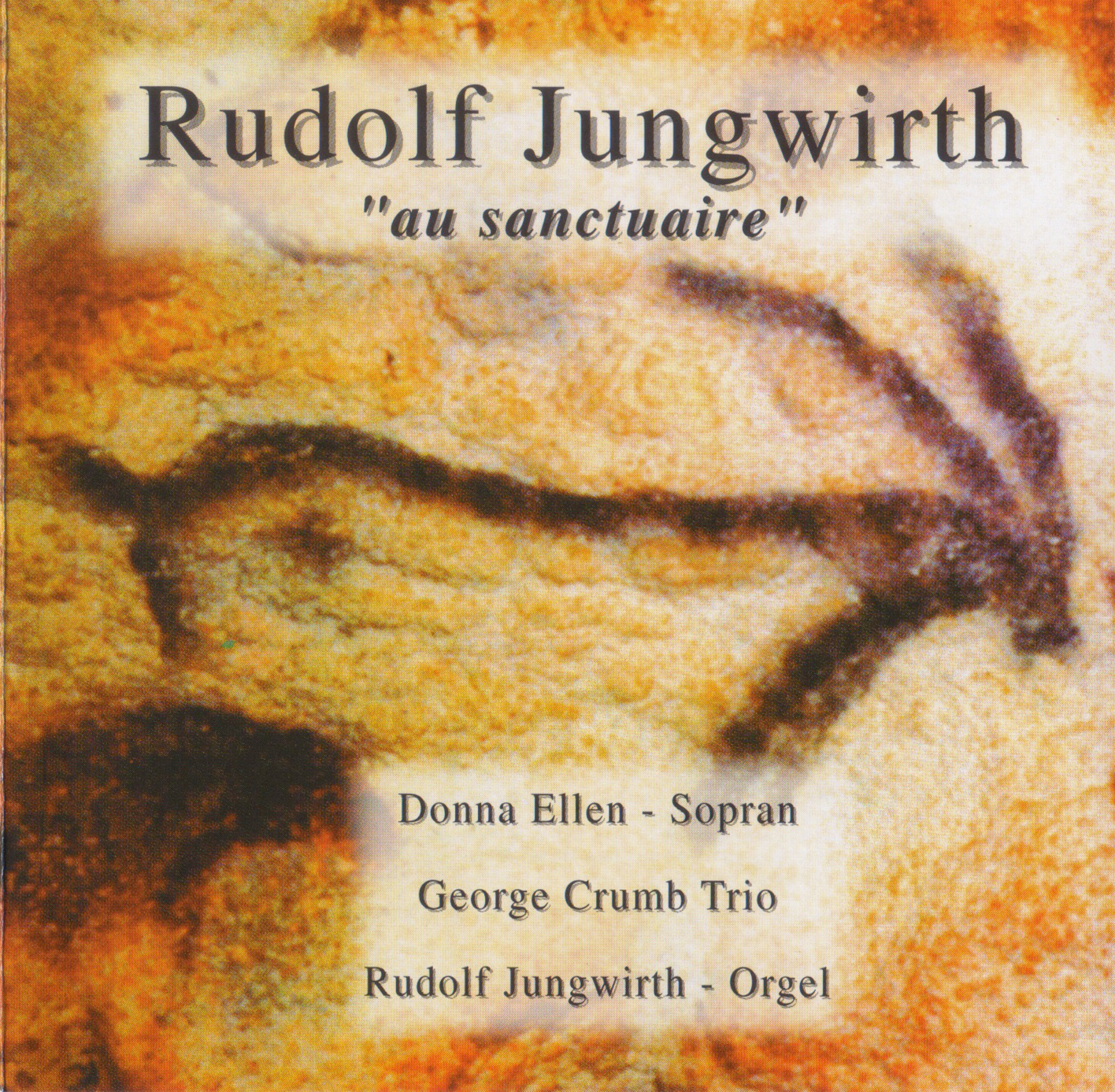 "CD Rudolf Jungwirth – ""au sanctuaire"""